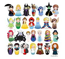 Kokeshis Fairy tales by Pendientera