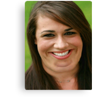 Colleen Ballinger (with maybe just a few double chins...) Canvas Print
