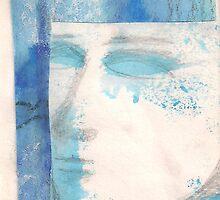 BLUE FACE (C2000) by Paul Romanowski