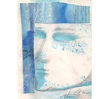 BLUE FACE (C2000) Photographic Print