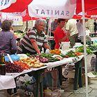 Dubrovnik Old Town Market by elspeth2000