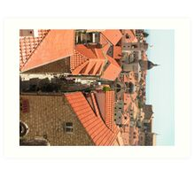 Dubrovnik Sky Scape Art Print
