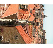 Dubrovnik Sky Scape Photographic Print