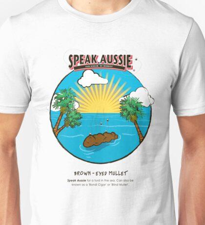 Brown Eyed Mullet Unisex T-Shirt