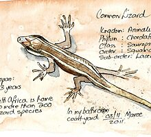 Lizards - Not so easy! by Maree  Clarkson