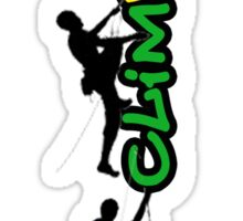 Just climb up, how high can U go... Sticker