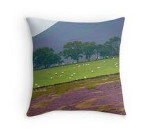 YORKSHIRE VALLEY Throw Pillow
