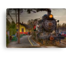 leaving the station Canvas Print