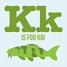 K is for Koi by Amy Huxtable