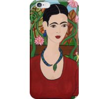 Frida with Vines iPhone Case/Skin