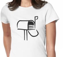 Mail box Womens Fitted T-Shirt