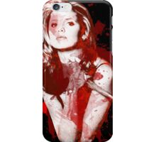 Splatter Buffy iPhone Case/Skin