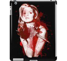 Splatter Buffy iPad Case/Skin