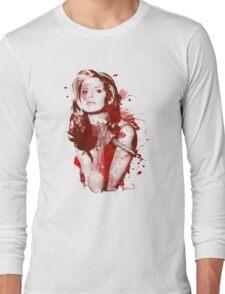 Splatter Buffy Long Sleeve T-Shirt