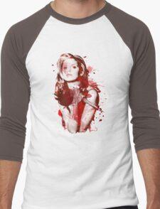 Splatter Buffy Men's Baseball ¾ T-Shirt