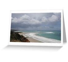 Great Ocean Road view Greeting Card