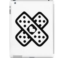 Crossed band-aids iPad Case/Skin