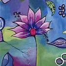 Lavender Lotus by Erin DuFrane Art