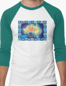 Australia Map board game T-Shirt