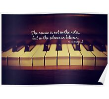 Mozart Music Poster