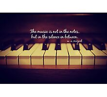 Mozart Music Photographic Print