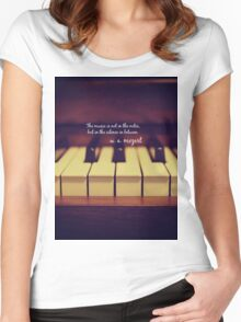 Mozart Music Women's Fitted Scoop T-Shirt