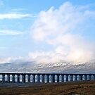 Snow on the line by clickinhistory
