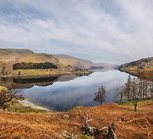 Panorama of Haweswater - Cumbria by eddiej