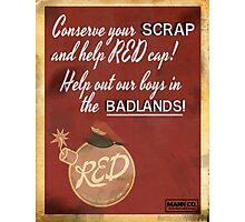 TF2 cp_badlands propaganda poster Photographic Print