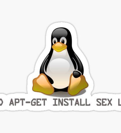 Linux - Get Install Sex Life Sticker