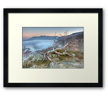 Mist on Derwent Water Framed Print