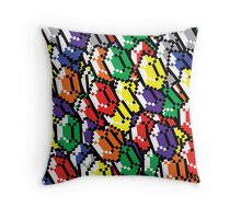 Rupees Galore Throw Pillow