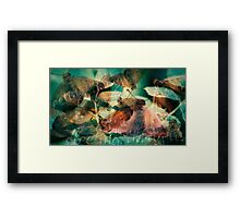 fleeting thoughts [print] Framed Print