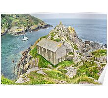 Polperro Point Poster