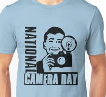 NATIONAL CAMERA DAY Unisex T-Shirt