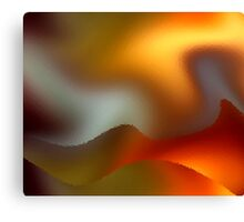 Luminous Waves Canvas Print