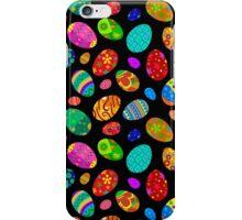 Easter Egg on Black Design iPhone Case/Skin