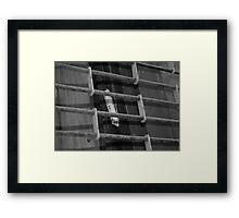 Abandoned Mezuzah Framed Print