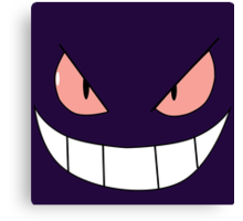 Gengar face Canvas Print