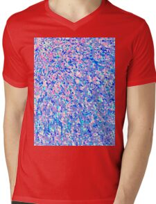 Informel Art Abstract Mens V-Neck T-Shirt