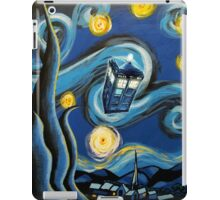 Blue Tardis Starry Night iPad Case/Skin