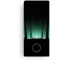 Journey in the Dark Canvas Print