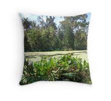 Audobon Park Swamp Throw Pillow