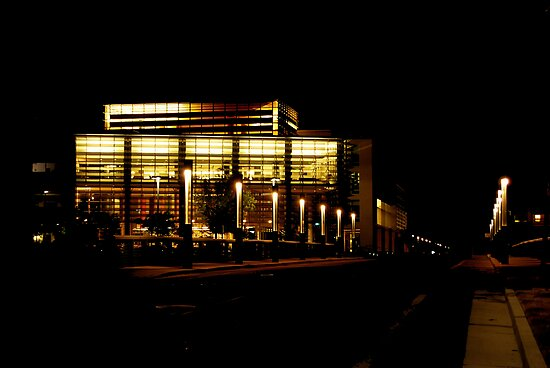 Night at UC Merced  by Mark  Christensen