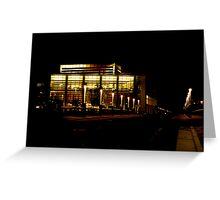 Night at UC Merced  Greeting Card