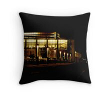 Night at UC Merced  Throw Pillow