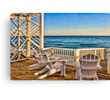 Serenity by the Sea Canvas Print
