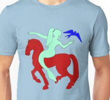 Gaia Says...A Horse Needs A Fish! Unisex T-Shirt