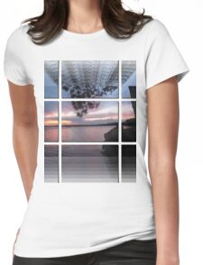 Sunset At Lake Catchacoma 2-Available As Art Prints-Mugs,Cases,Duvets,T Shirts,Stickers,etc Womens Fitted T-Shirt