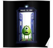 Tardis Monster inc Poster